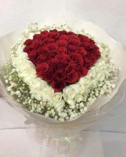 Bó hoa hồng cho vợ