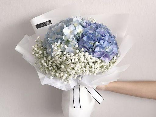 Bó hoa cẩm tú cầu đẹp nhất Việt Nam