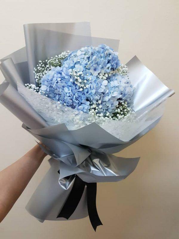 Bó hoa cẩm tú cầu giá 400k