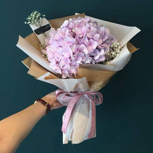 Bó hoa cẩm tú cầu giá rẻ