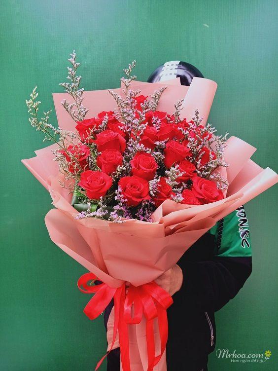 Bó hoa hồng đỏ tặng vợ đẹp nhất