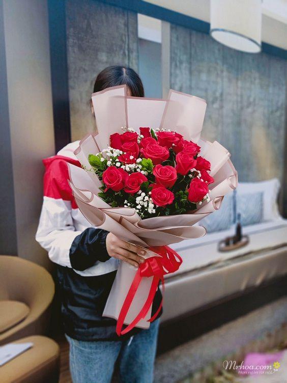 Bó hoa hồng đỏ sinh nhật ý nghĩa nhất