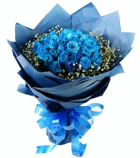 Hoa hồng xanh tặng nam giới