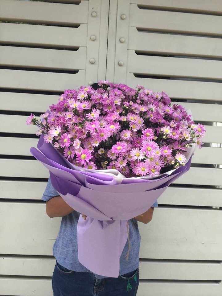 Hoa thạch thảo tặng vợ