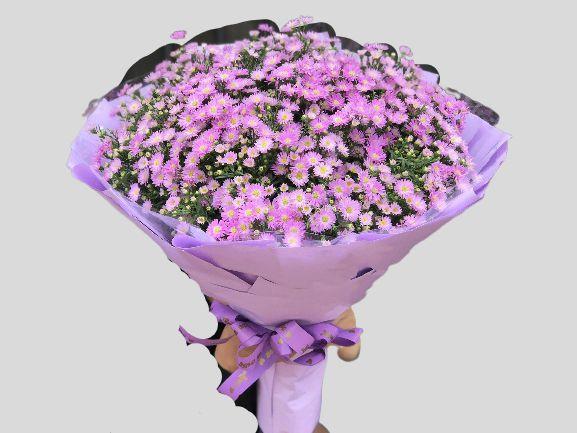 Bó hoa thạch thảo tặng sinh nhật