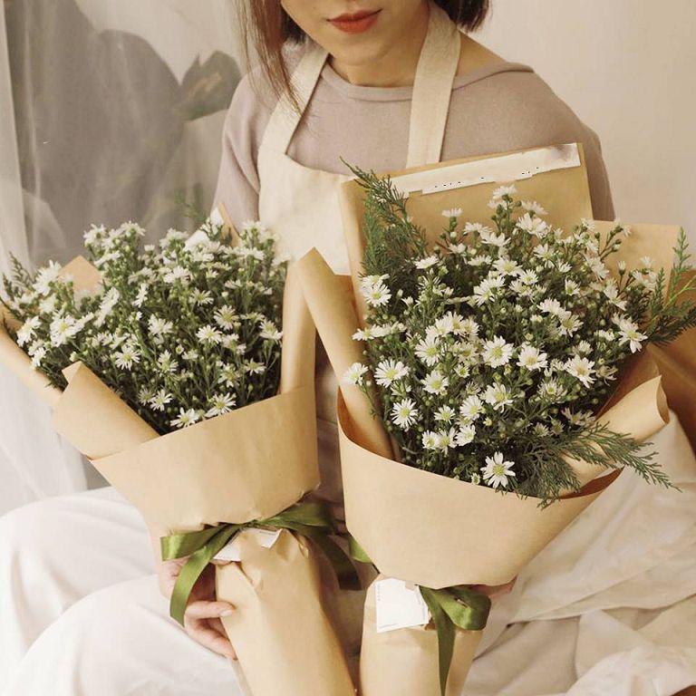 Bó hoa thạch thảo nhỏ xinh