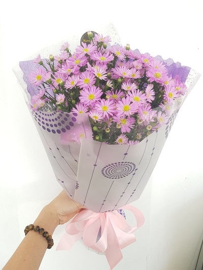 Bó hoa thạch thảo đẹp nhất