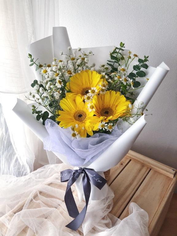 Bó hoa đồng tiền 3 bông
