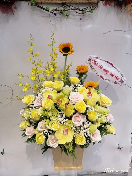 Tặng hoa tươi ở Gò Công