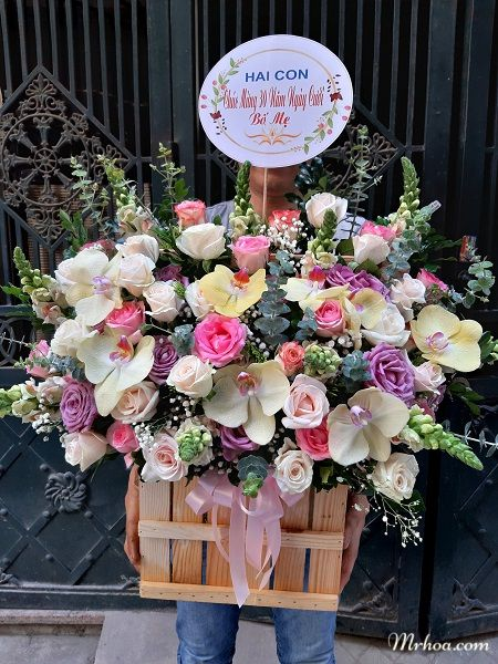 Đặt hoa online ở Móng Cái
