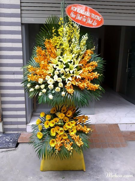 Hoa chúc mừng khai trương Vĩnh Yên