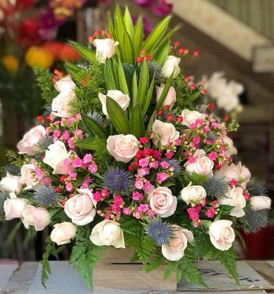 shop hoa tuoi duc trong