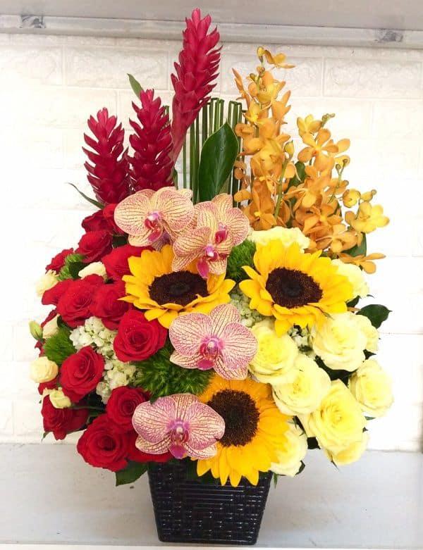 hoa sinh nhat sep nam dep nhat