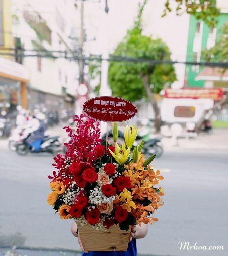 Đặt hoa tươi đường Võ Thị sáu