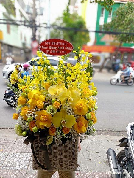 Cửa hàng hoa tươi Long Biên Hà Nội