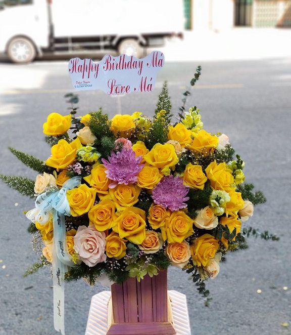 Cửa hàng hoa tươi Ba Đình