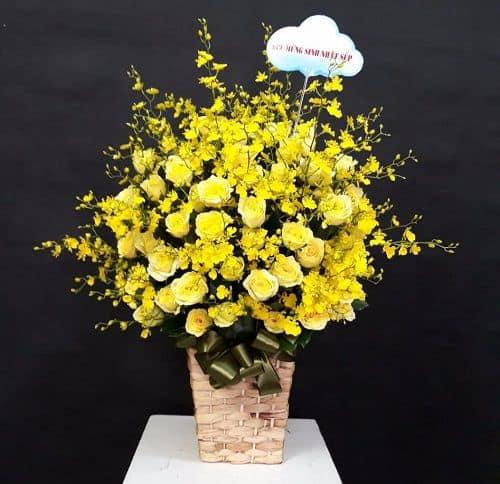 Hoa tặng mẹ vu lan