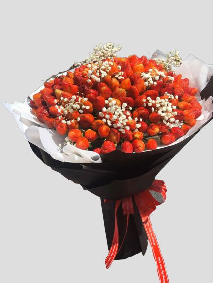 Bó hóa dâu tây đỏ