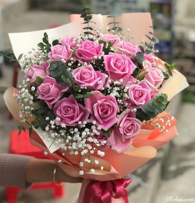 Bo hoa hong tang sinh nhat