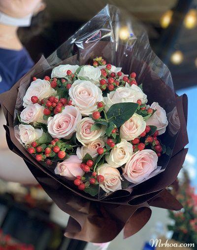 Hoa tuoi nha trang