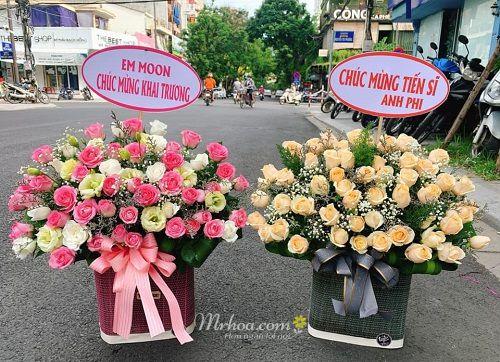 Hoa sinh nhật ở Huế