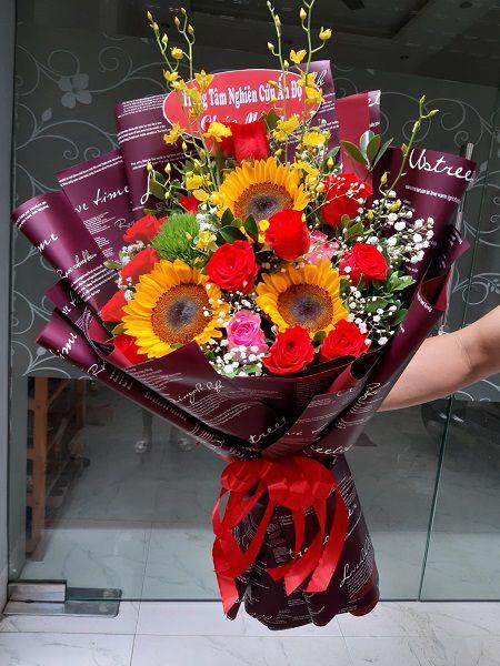 Hoa sinh nhật thành phố Hải Phòng