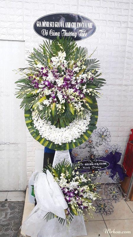 Hoa tang lễ Bến Tre