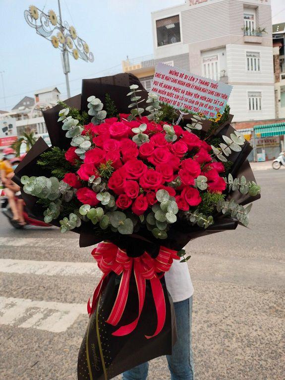 Tiệm hoa Hà Nội có mẫu hoa đa dạng