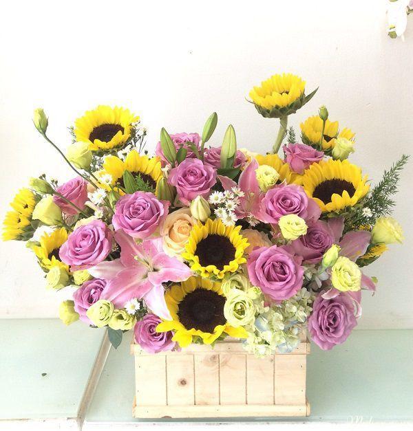 hoa tang sinh nhat chong