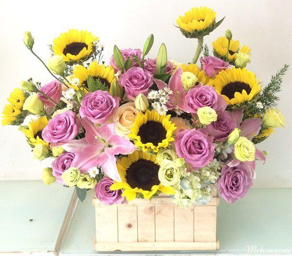 lang hoa tang sinh nhat phu nu