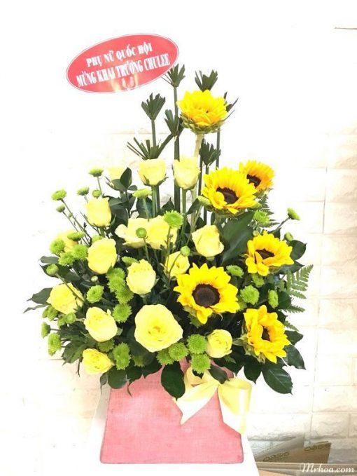 lang hoa chuc mung