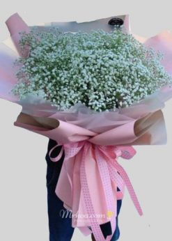 Bó hoa baby khổng lồ