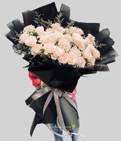 Bó hoa hồng khổng lồ