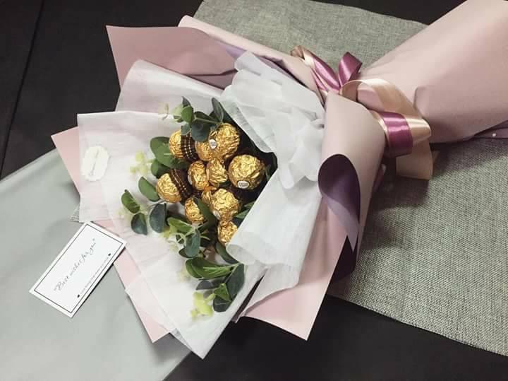bo hoa chocola