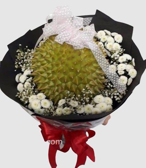 Hoa sầu riêng ăn được