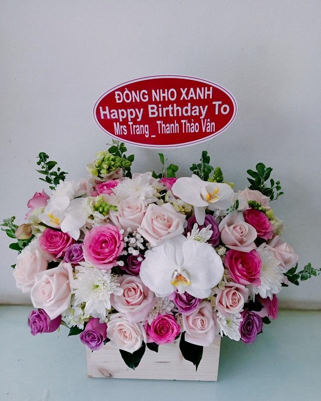 Gio hoa sinh nhat thang 3 sang trong