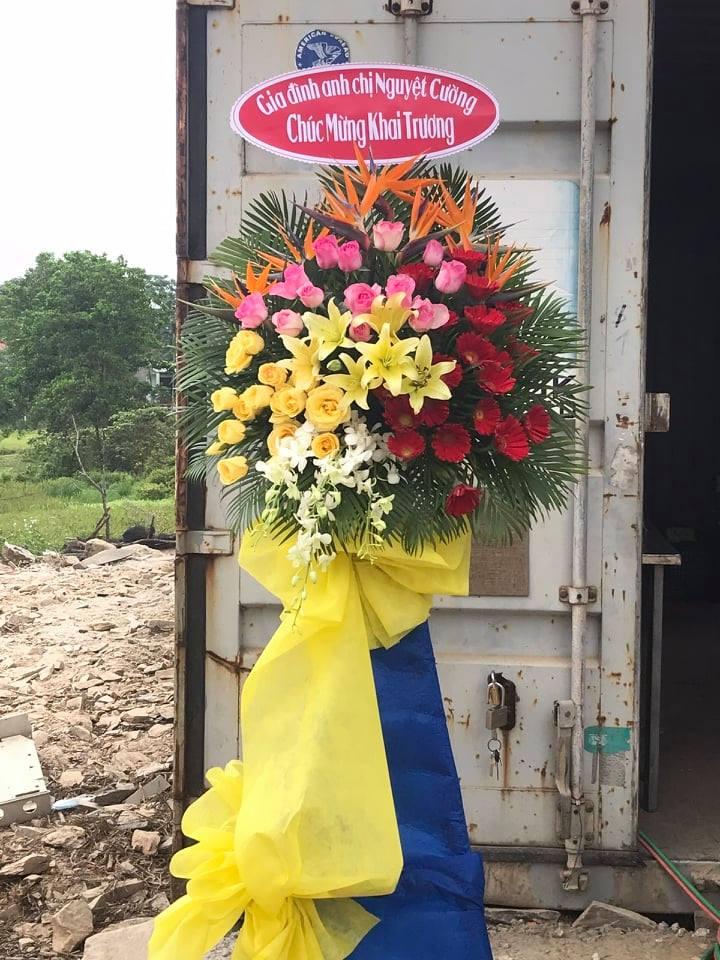 Hình hoa tại nơi giao