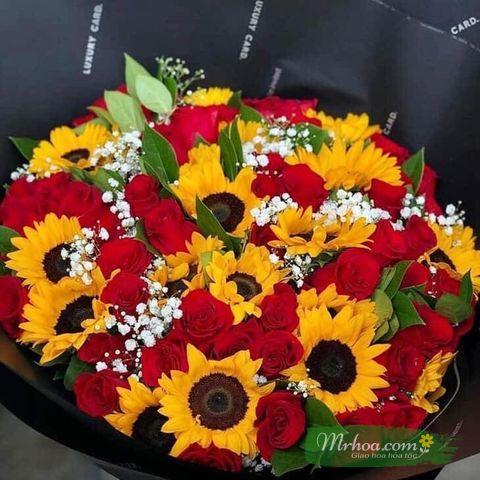 Mẫu hoa anh Lộc chọn