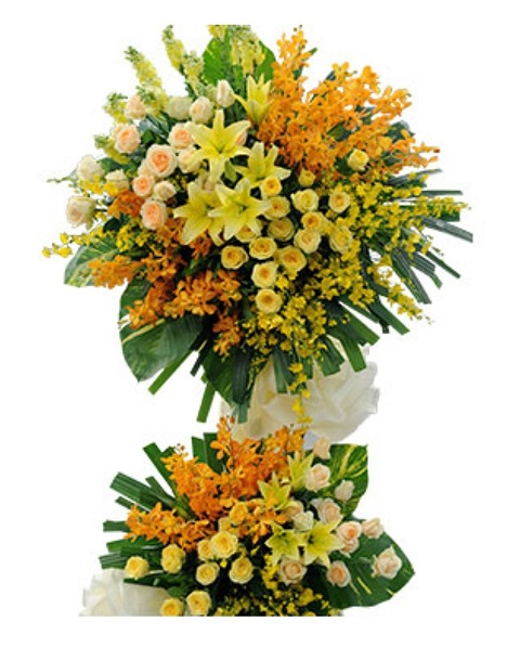 Mẫu hoa chị Mộc Thảo chọn